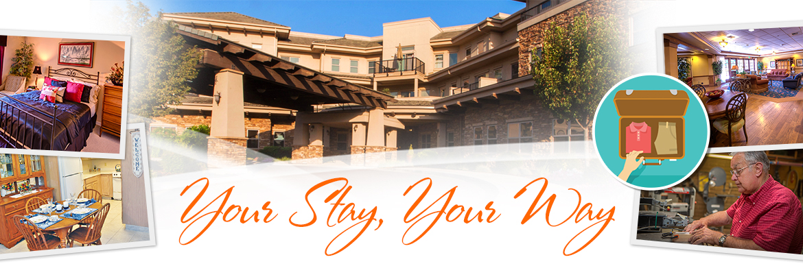 Plan Your Stay, Your Way at Covenant Village of Turlock